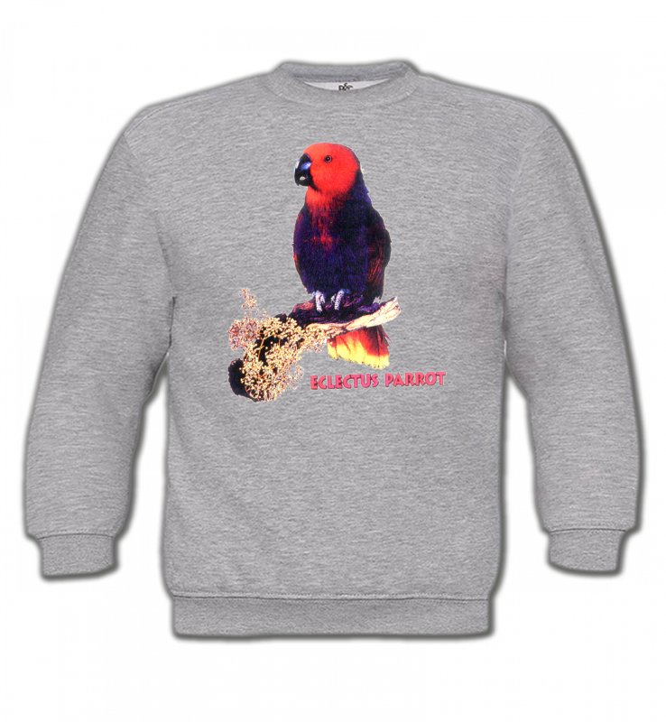 Sweatshirts Enfantsoiseaux exotiquesPerroquet Electus femelle (I)