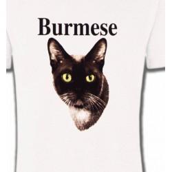 T-Shirts Races de chats Chat Burmese