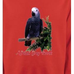 Sweatshirts Sweatshirts Enfants Perroquet Gris du Gabon (B)