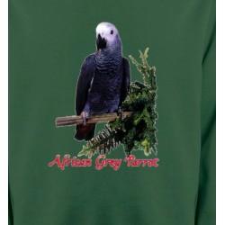 Sweatshirts Sweatshirts Unisexe Perroquet Gris du Gabon (B)