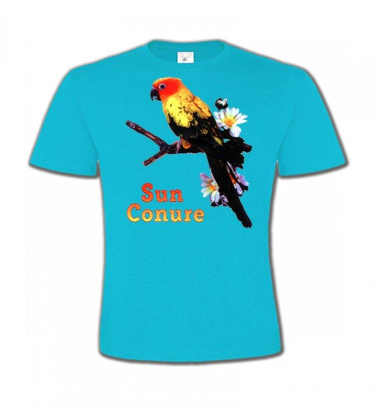 T-Shirts Col Rond Enfantsoiseaux exotiquesPerroquet Conure Soleil