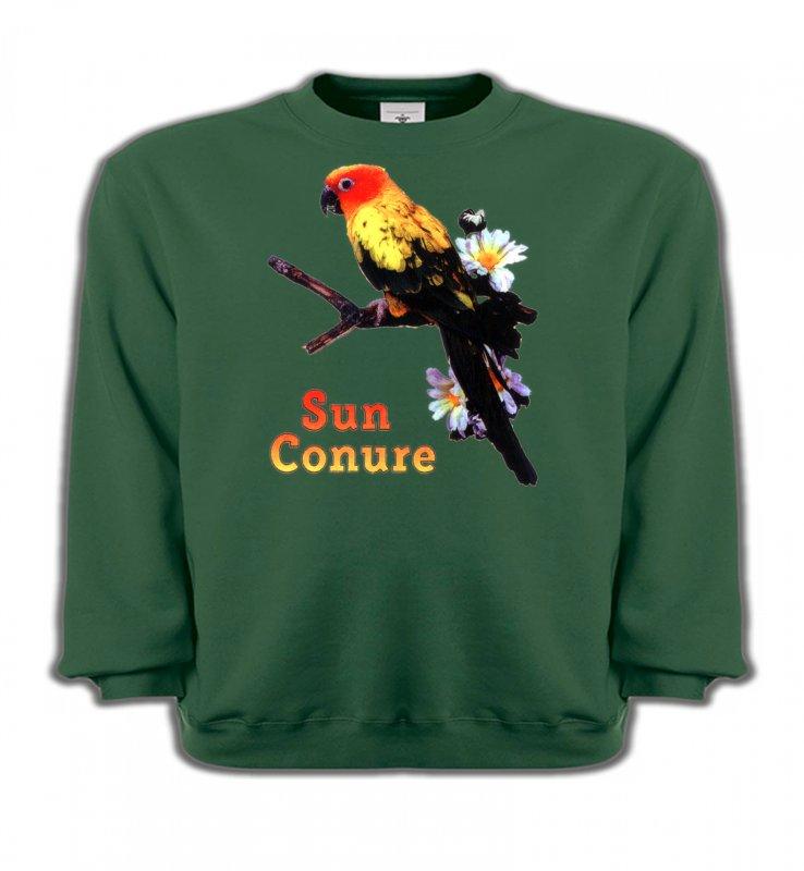 Sweatshirts Enfantsoiseaux exotiquesPerroquet Conure Soleil