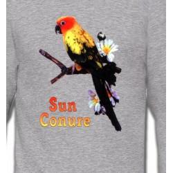 Sweatshirts Sweatshirts Enfants Perroquet Conure Soleil