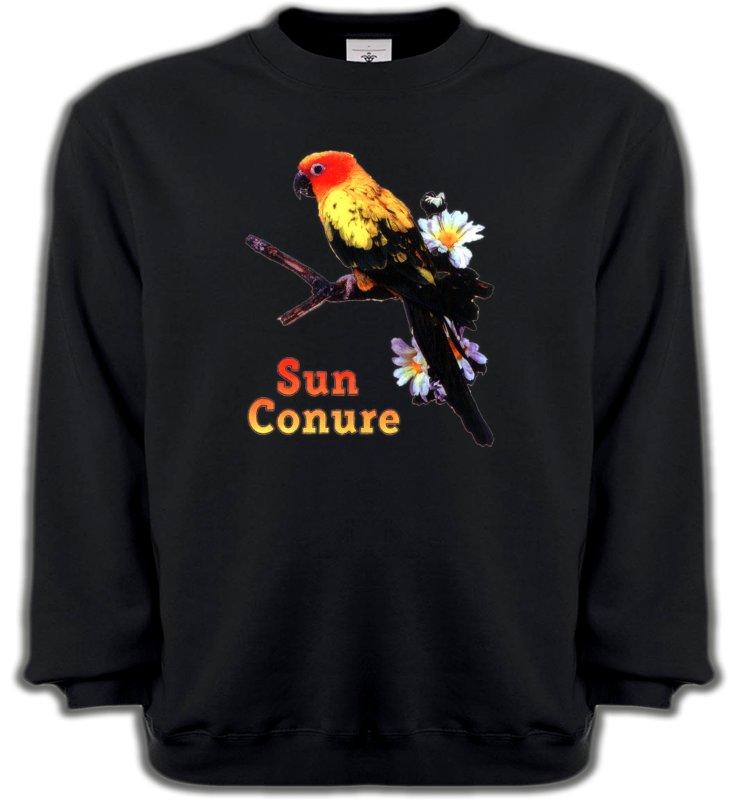 Sweatshirts Unisexeoiseaux exotiquesPerroquet Conure Soleil