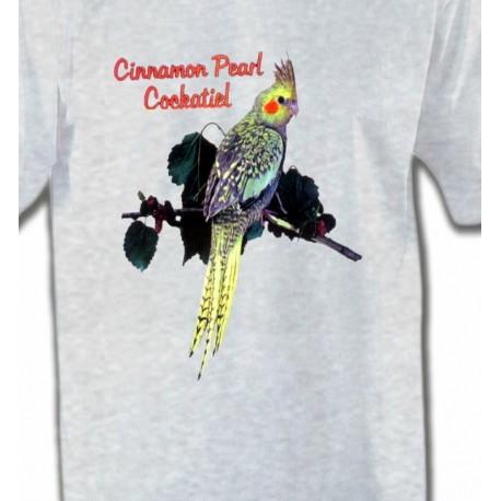 Perroquet Cockatiel Perlé (D)