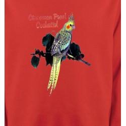Sweatshirts Sweatshirts Enfants Perroquet Cockatiel Perlé (D)