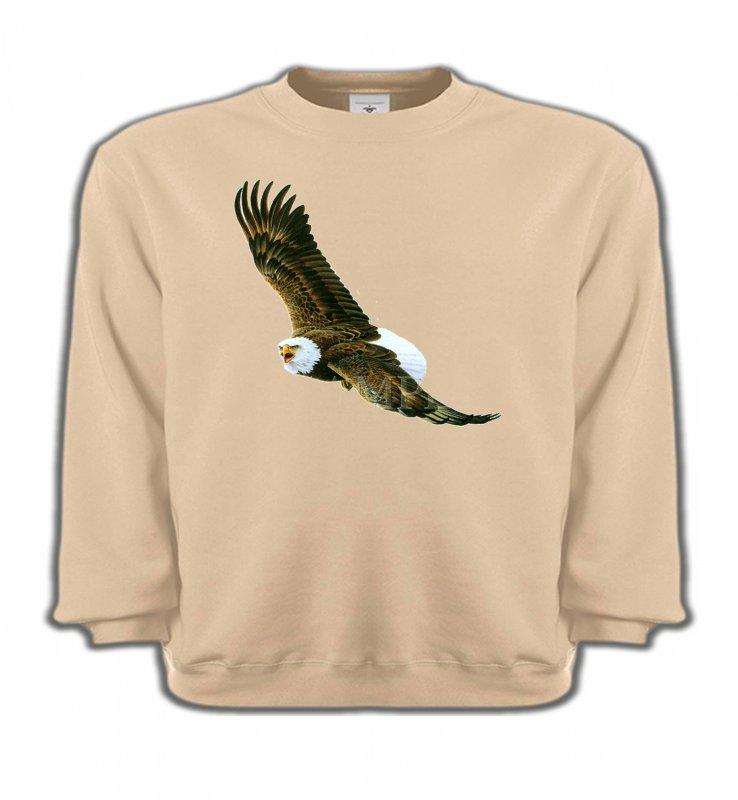 Sweatshirts EnfantsAiglesAigle en vol aigle pygargue à tête blanche
