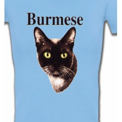 T-Shirts Races de chats Chat Burmese