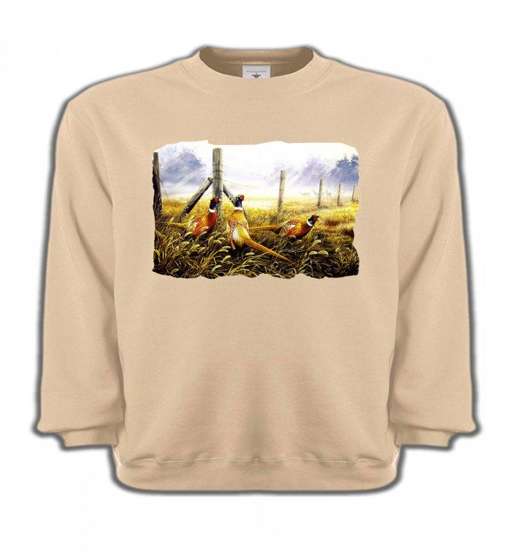 Sweatshirts EnfantsOiseaux divers3 Faisans (X)