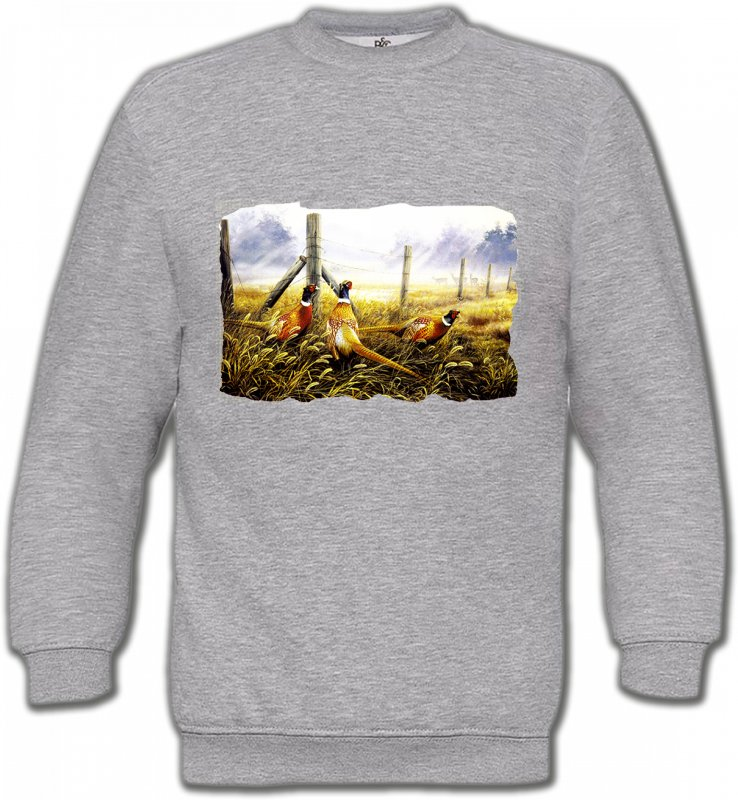 Sweatshirts UnisexeOiseaux divers3 Faisans (X)