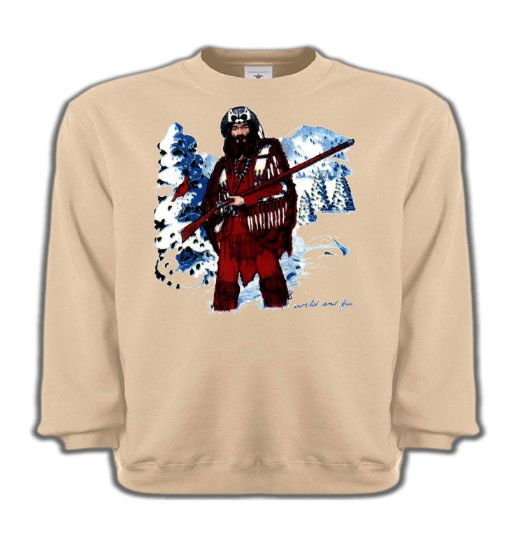 Sweatshirts EnfantsIndien et AmérindiensIndien à la chasse (W)