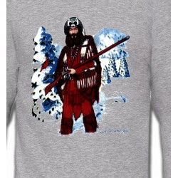 Sweatshirts Sweatshirts Unisexe Indien à la chasse (W)