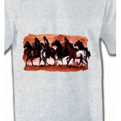 T-Shirts T-Shirts Col Rond Enfants Tribu indienne (J)