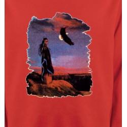 Sweatshirts Sweatshirts Enfants Indienne et aigle (S)