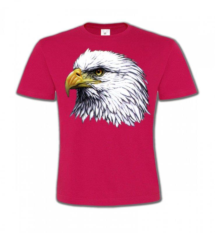 T-Shirts Col Rond EnfantsAiglesTête d'aigle pygargue à tête blanche