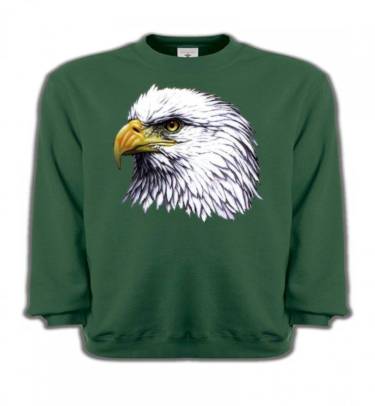 Sweatshirts EnfantsAiglesTête d'aigle pygargue à tête blanche