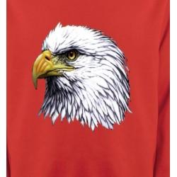 Sweatshirts Aigles Tête d'aigle pygargue à tête blanche
