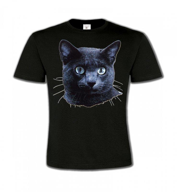 T-Shirts Col Rond EnfantsRaces de chatsChat russe (B2)