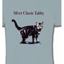 T-Shirts Races de chats Chat tigré gris (Y)