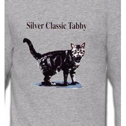 Sweatshirts Sweatshirts Enfants Chat tigré gris (Y)