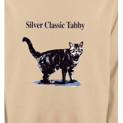 Sweatshirts Sweatshirts Unisexe Chat tigré gris (Y)