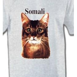 T-Shirts Races de chats Chat Somali (X)