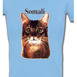 T-Shirts Races de chats Chat Somali (X)