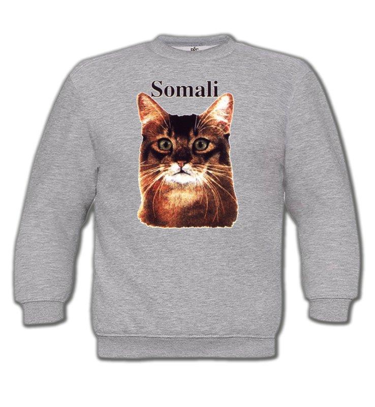 Sweatshirts EnfantsRaces de chatsChat Somali (X)