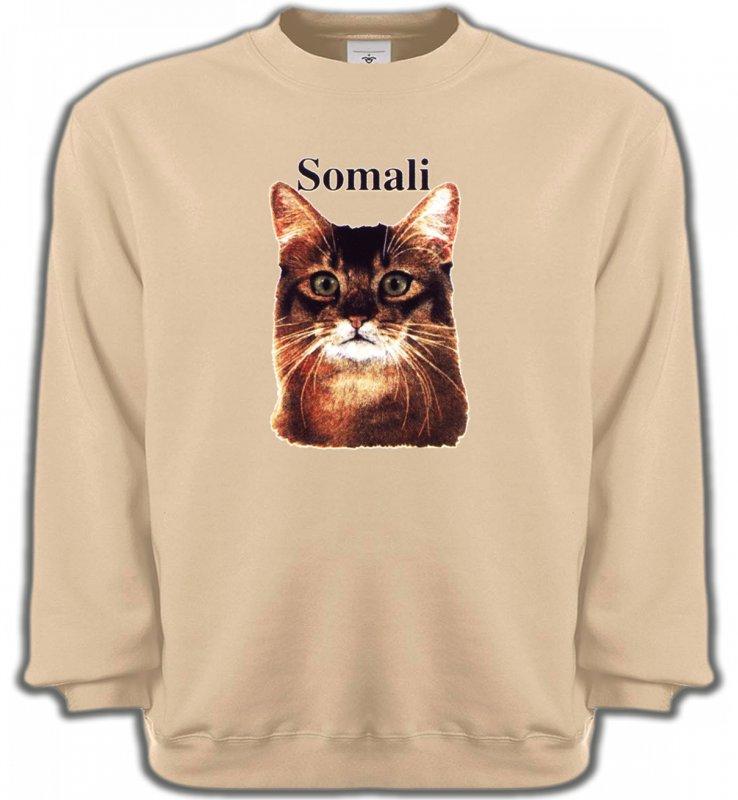 Sweatshirts UnisexeRaces de chatsChat Somali (X)