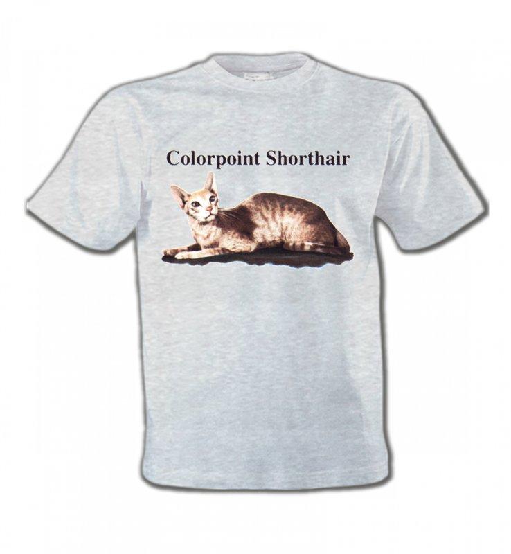 T-Shirts Col Rond EnfantsRaces de chatsChat Siamois (N2)
