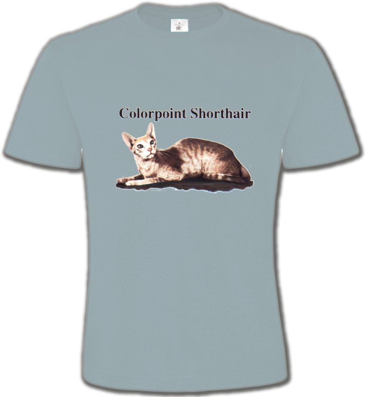 T-Shirts Col Rond UnisexeRaces de chatsChat Siamois (N2)