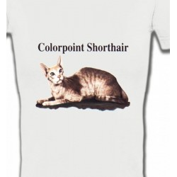 T-Shirts Races de chats Chat Siamois (N2)