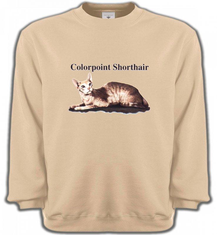 Sweatshirts UnisexeRaces de chatsChat Siamois (N2)