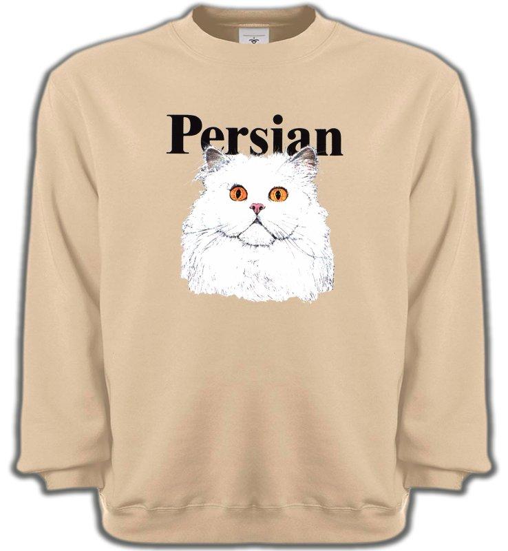 Sweatshirts UnisexeRaces de chatsChat Persan (H2)