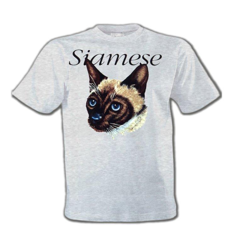 T-Shirts Col Rond EnfantsRaces de chatsChat siamois (K2)