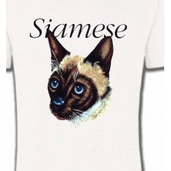 T-Shirts Races de chats Chat siamois (K2)