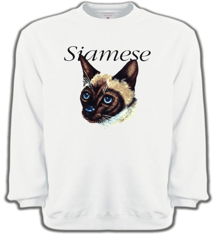 Sweatshirts UnisexeRaces de chatsChat siamois (K2)