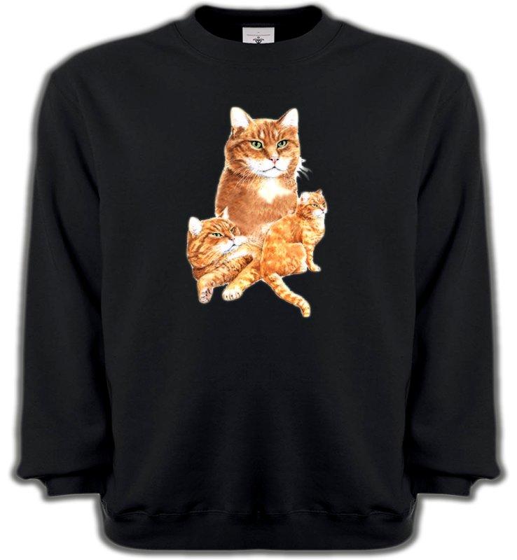 Sweatshirts UnisexeRaces de chatsChat tigré roux (L2)