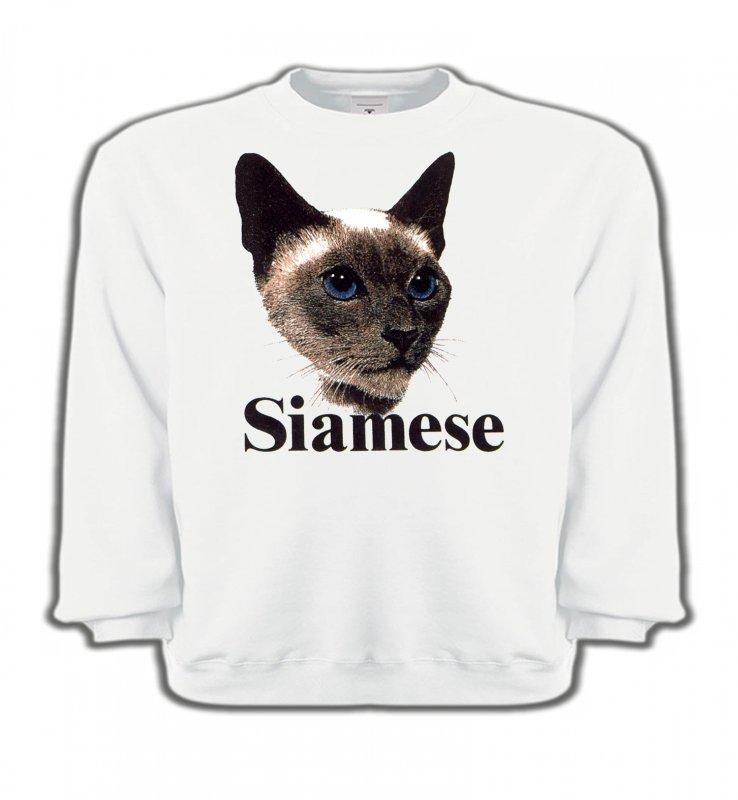 Sweatshirts EnfantsRaces de chatsChat Siamois (J2)