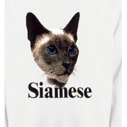 Sweatshirts Races de chats Chat Siamois (J2)