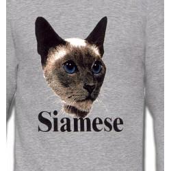 Sweatshirts Sweatshirts Unisexe Chat Siamois (J2)