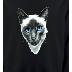 Sweatshirts Races de chats Chat Siamois (F2)