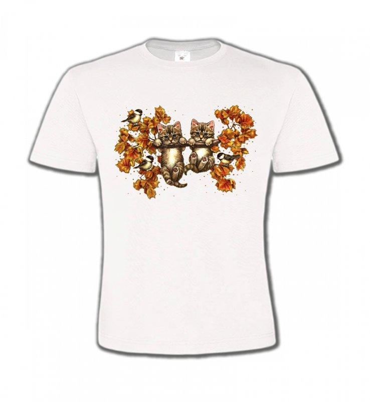 T-Shirts Col Rond EnfantsRaces de chatsChatons (F)