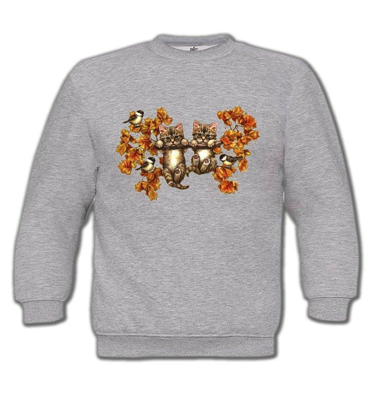 Sweatshirts EnfantsRaces de chatsChatons (F)