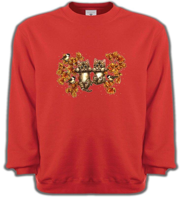 Sweatshirts UnisexeRaces de chatsChatons (F)