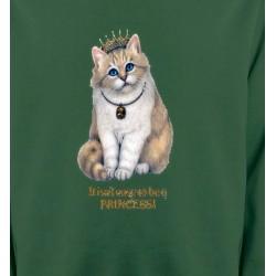 Sweatshirts Sweatshirts Unisexe Chat Princesse (y3)