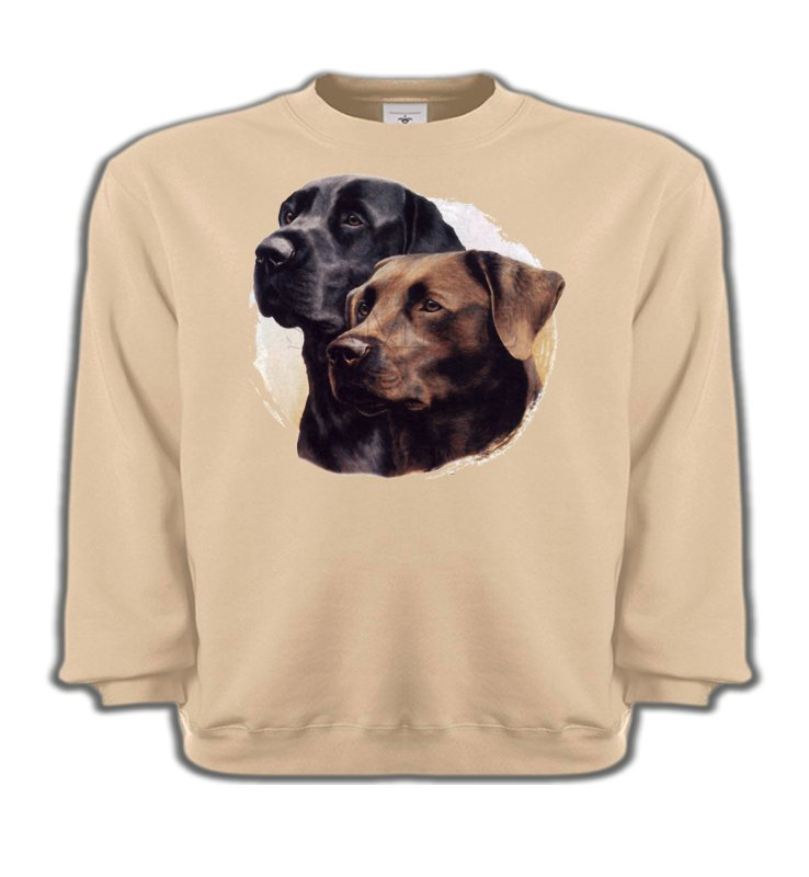 Sweatshirts EnfantsLabradorLabrador noir et chocolat (A)
