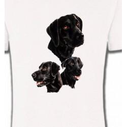 T-Shirts Races de chiens Labrador noir (B)
