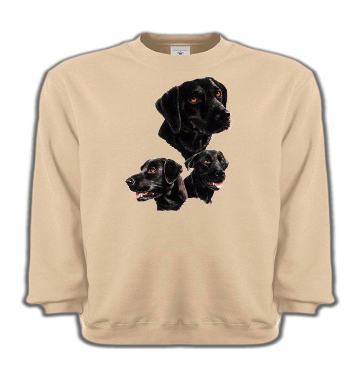 Sweatshirts EnfantsLabradorLabrador noir (B)