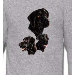 Sweatshirts Sweatshirts Unisexe Labrador noir (B)